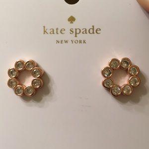 Kate Spade Rose Gold Full Circle Earrings